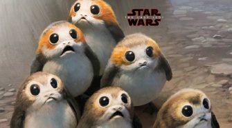Porgs from the Last Jedi