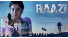 Raazi Hindi Movie Poster