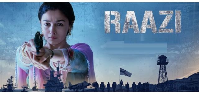 Raazi Hindi Movie Poster