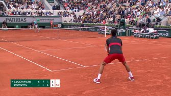noval vs marco french open fourth set